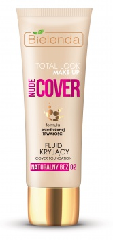 Make-Up TOTAL LOOK MAKE-UP Nude Cover plne krycí make-up 30g